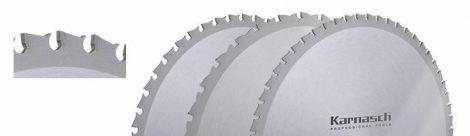Karnasch HM cirkelzaagblad voor haakse slijpers, voor bouwstaal, RVS, dun plaatmateriaal, sandwichpanelen BESTSELLER