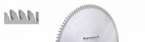 Karnasch HM cirkelzaagblad voor harde Kunststoffen, abrasieve materialen BESTSELLER