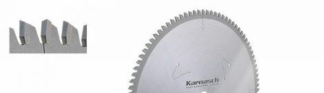 Karnasch HM cirkelzaagblad voor zacht, hard en gelijmd hout en kunststof