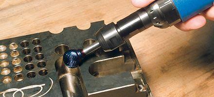 Karnasch BESTSELLER Profi-Luchtdrukslijper type: K25/2 voor freesstiften met opname Ø6,0mm Art: 114704