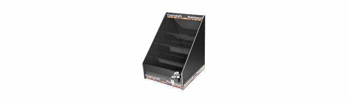 Karnasch Display voor 64 stuks freesstiften zwart Art: 114955