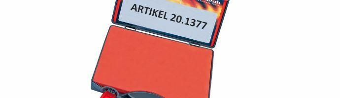 Karnasch Koffer leeg voor Mini-Line 8-25 mm Art: 201377