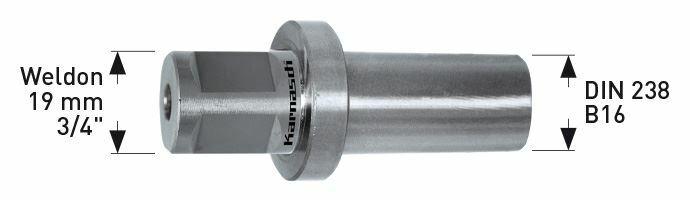 Karnasch Adapter Weldon 19mm Art: 201384