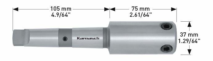 Karnasch houder MK3 met binnenkoeling Art: 201400