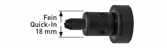 Karnasch Adapter Fein Quick-In 6-12mm Art: 201421