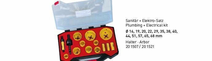 Karnasch BESTSELLER Bi-Metall gatenzagen Koffer 16,19,20,22,29,35,38,40,44,51,57,65,68 mm Art: 201516