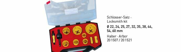 Karnasch BESTSELLER Bi-Metall gatenzagen Koffer 22,24,25,27,32,35,38,44,54,60mm Art: 201517