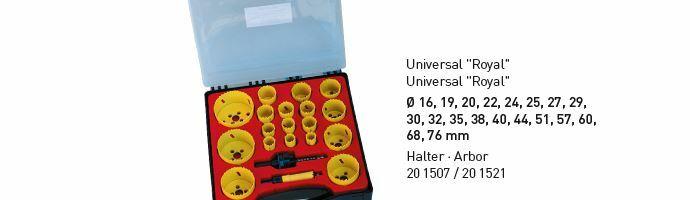 Karnasch BESTSELLER Bi-Metall gatenzagen Koffer 16,19,20,22,24,25,27,29,30,32,35,38, 40,44,51,57,60,68,76+20.1507+201521 Art: 201520