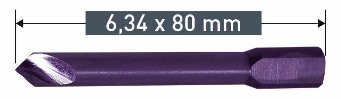 Karnasch Uitwerpboor voor Power Drill 4000 6,34x80 Art: 201531