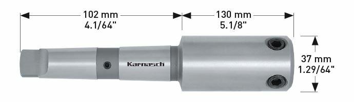 Karnasch Morsekonus 3 voor CNC-Maschinen Art: 210036