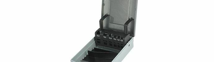Karnasch Lege Box voor Set 6,3; 8,3; 10,4; 12,4; 16,5; 20,5; Art: 210042