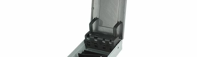 Karnasch Lege Box voor Set 6,3; 10,4; 16,5; 20,5; 25,0; Art: 210043