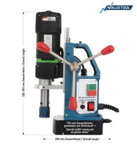 Karnasch magneetboormachine KA38 SENSOR 230 Volt Europa versie BESTSELLER