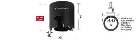 Karnasch HM gatenzaag Allround ECO 60, snedediepte 60mm BESTSELLER