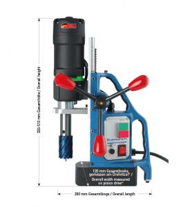 Karnasch magneetboormachine KA40 SENSOR 230 Volt Europa versie BESTSELLER