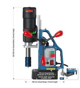 Karnasch magneetboormachine KAS40 SENSOR 230 Volt Europa versie BESTSELLER
