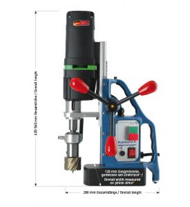Karnasch magneetboormachine KA50 SENSOR 230 Volt Europa versie BESTSELLER