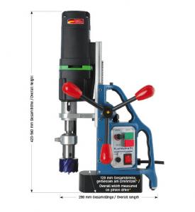 Karnasch magneetboormachine KATV55 SENSOR 230 Volt Europa versie BESTSELLER