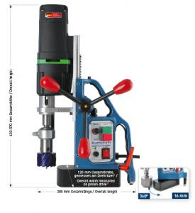Karnasch magneetboormachine KATSV55 SENSOR 230 Volt Europa versie BESTSELLER