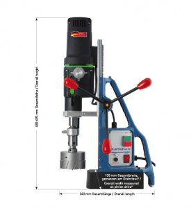 Karnasch magneetboormachine KA100 SENSOR 230 Volt Europa versie BESTSELLER