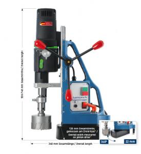 Karnasch magneetboormachine KAS100 SENSOR 230 Volt Europa versie BESTSELLER