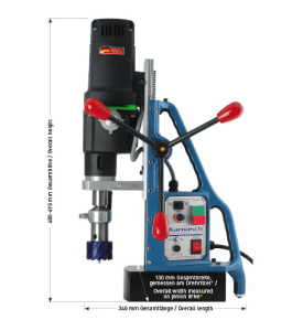 Karnasch magneetboormachine KATV100 SENSOR 230 Volt Europa versie BESTSELLER