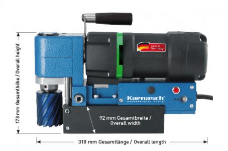 Karnasch magneetboormachine KALP45 SENSOR 230 Volt Europa versie BESTSELLER