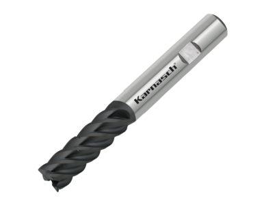 Karnasch VHM-Trochoidaal-frees met spaanbrekers, 5-snijder, met weldonopname, UFX-3 coating VALUETOOL