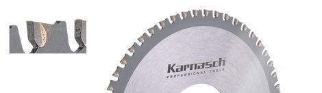Karnasch Orbitaal buiscirkelzaagblad Hardmetaal voor Kunststof