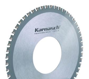 Karnasch Orbitaal buiscirkelzaagblad Hardmetaal voor Aluminium/koper