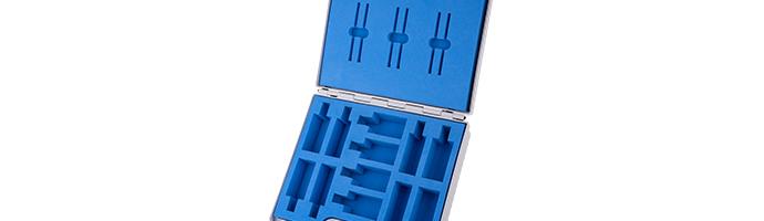 Karnasch lege kunststofkoffer voor 12 Kernboren Art: 201132