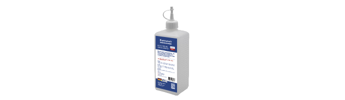 Karnasch MECUT MMKS UNIVERSEEL / STEEL/ALU/COPPER EASY-CLEAN minerale, olievrije high-performance minimum hoeveelheid smeerolie 500 ml spuitfles Art: 601164