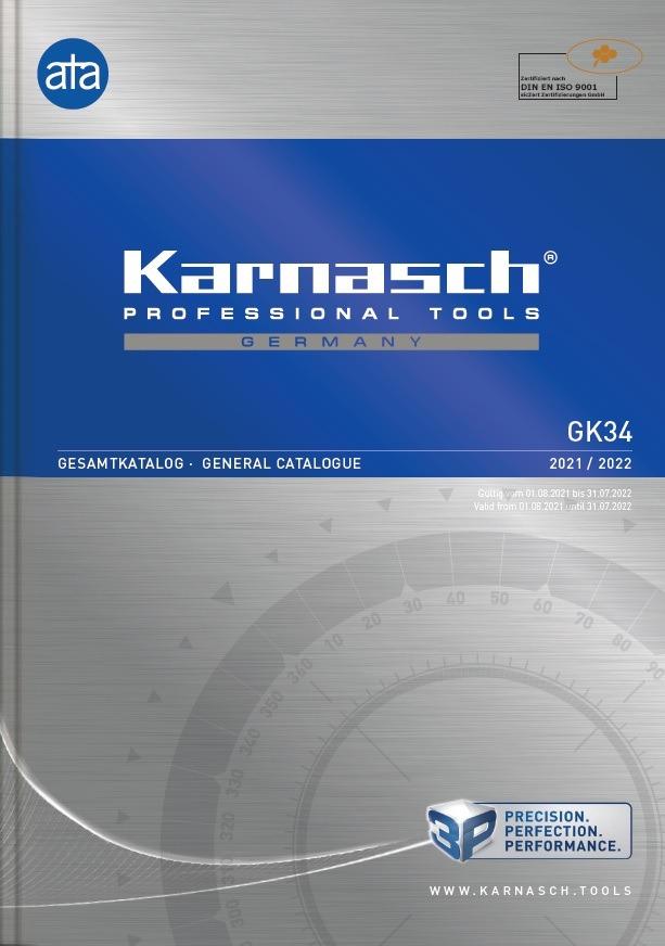 Karnasch hoofdcatalogus GK 34 2021-2022